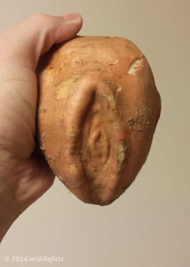 sweet potato vagina