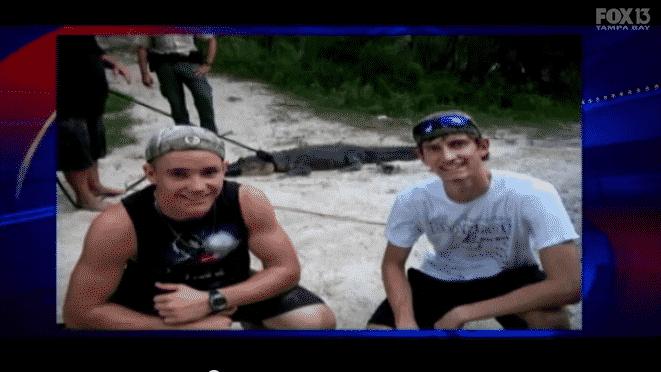 teens save drunken alligator wrestler