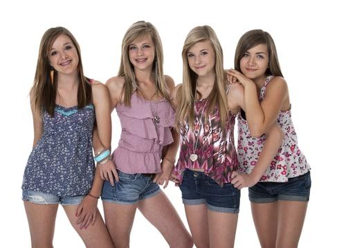 school teen girls model High