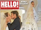 Angelina Jolie�s Wedding Dress Photos Are Even Prettier Than You Imagined