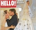 Angelina Let Her Kids Decorate Her Wedding Veil And It's Adorable