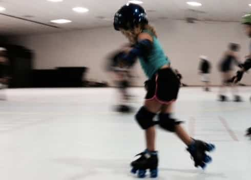 Roller Derby Makes My Daughter Fearless