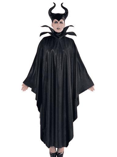 Plus-sized Maleficent costume