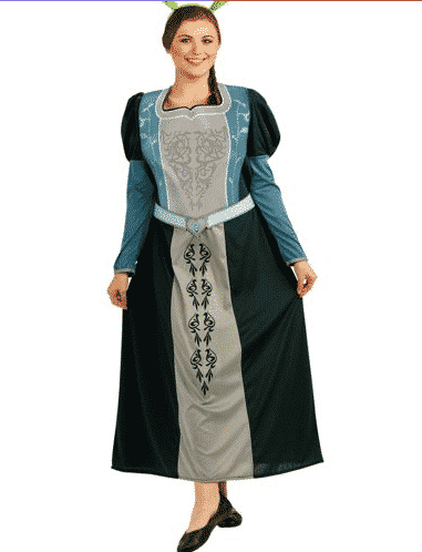 plus-sized fiona costume