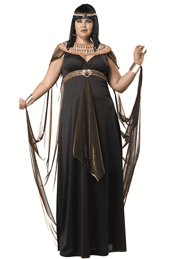 plus-size cleopatra costume