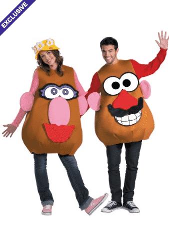 plus sized mr and mrs potato head costume