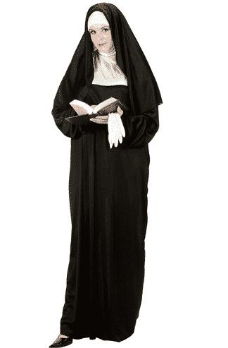 plus sized nun costume