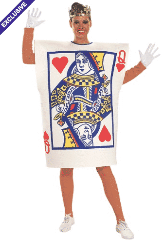 plus size card costume