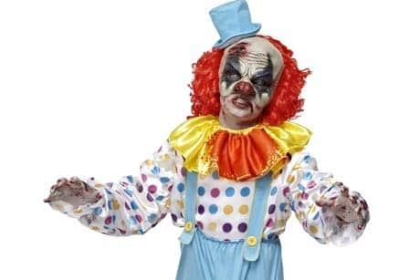 Wrigglie Clown - Halloween