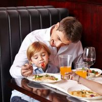 Eating out with kids