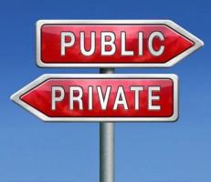 public school or private school
