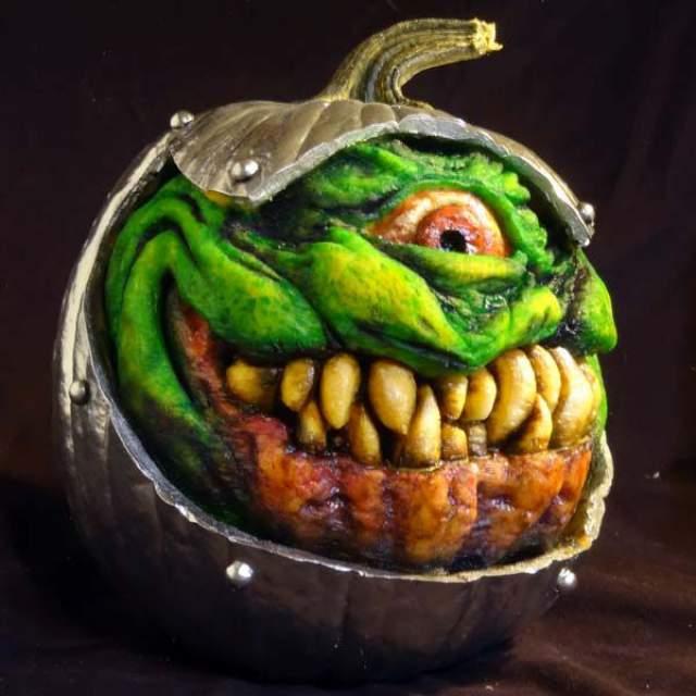 terrifying halloween pumpkins
