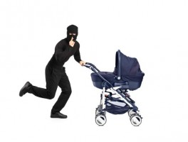 Committing a crime with a kid