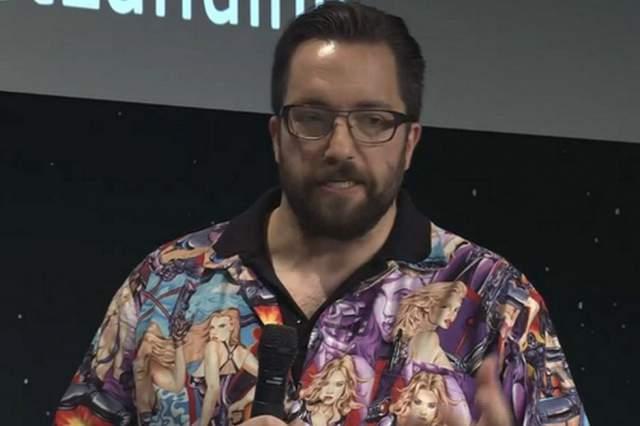 Scientist Matt Taylor Wears Sexist Shirt To Comet Landing
