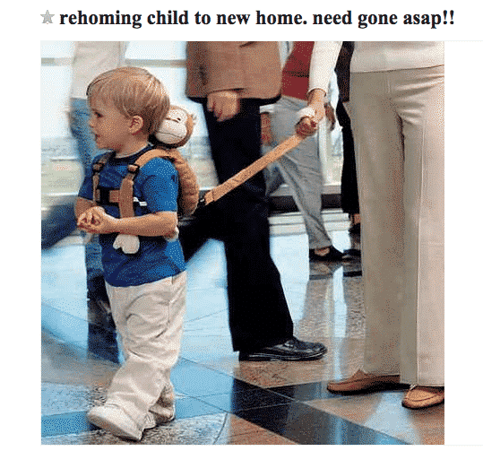 craigslist-rehome-child-ad