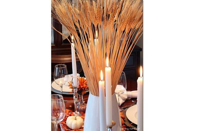 Wheat-centerpiece-on-fire