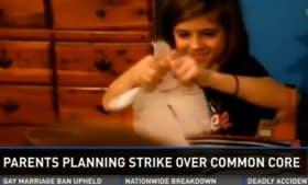 common core strike rene antonio daughter rips homework