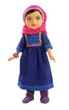 hearts for hearts shola afghanistan doll