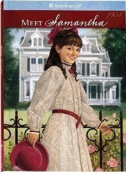 meet samantha american girl doll book