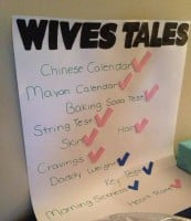 old wives tales gender prediction chart