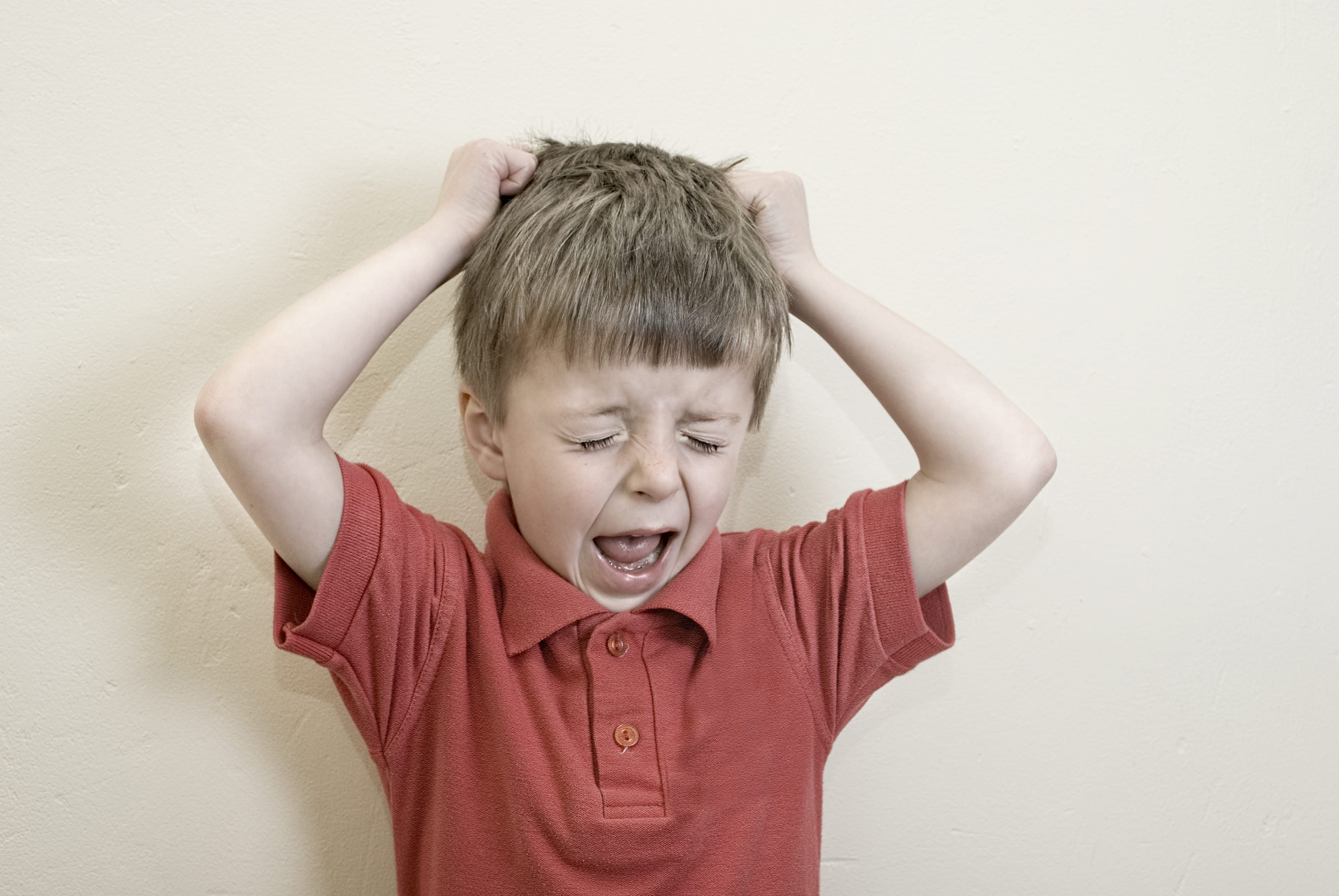 boy tantrum