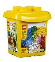 lego bucket of plain bricks
