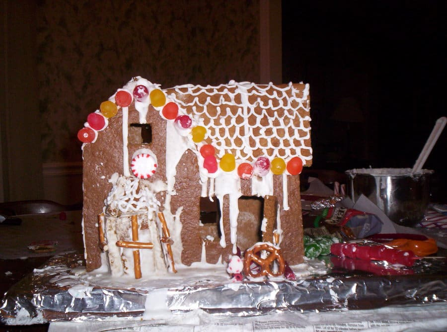 how to make a really good gingerbread house