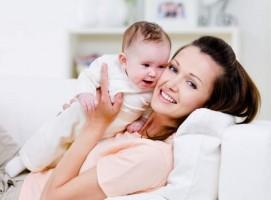 Mom-new-baby
