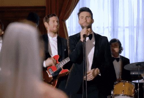 Viral maroon 5 wedding crasher video was staged for Maroon 5 wedding video