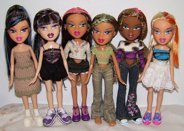 You need to see how normal these bratz dolls look without Bratz fashion look and style doll