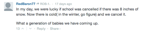 school closing cold day comment 3