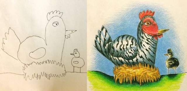 Fred-Giovannitti-drawing-chickens
