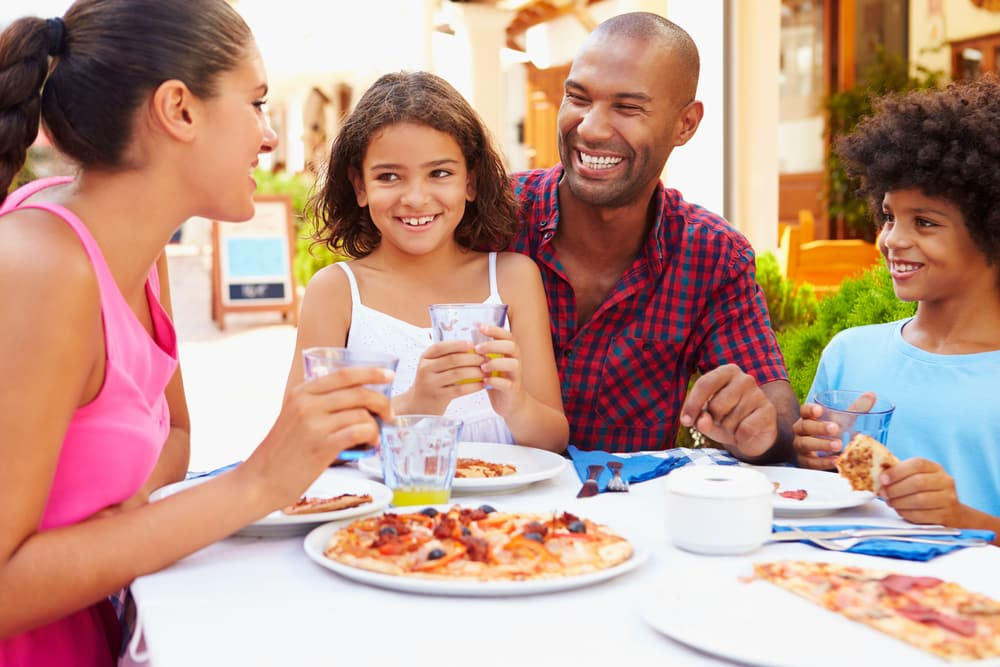 Taking young kids to restaurants for Kids restaurants