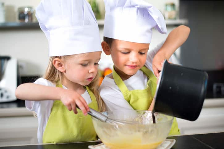 9 things that happen when you let your kids in the kitchen