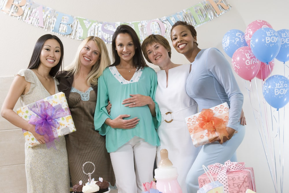 pregnant baby shower