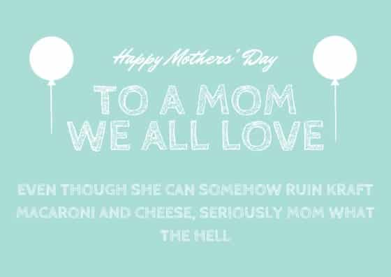 MOTHER'S DAY(2)