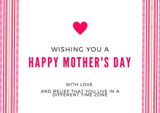 MOTHER'S DAY(3)