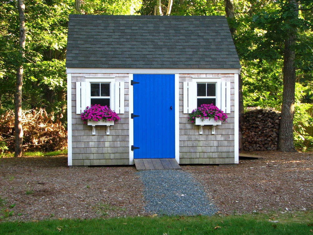 What is a she shed for Shed bathroom designs