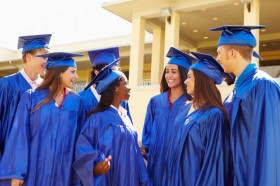 students-in-caps-and-gowns-at-graduation