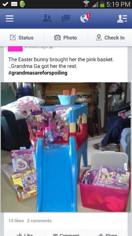 3. grandmas are for spoiling