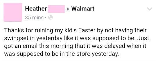 6. Thanks, Walmart
