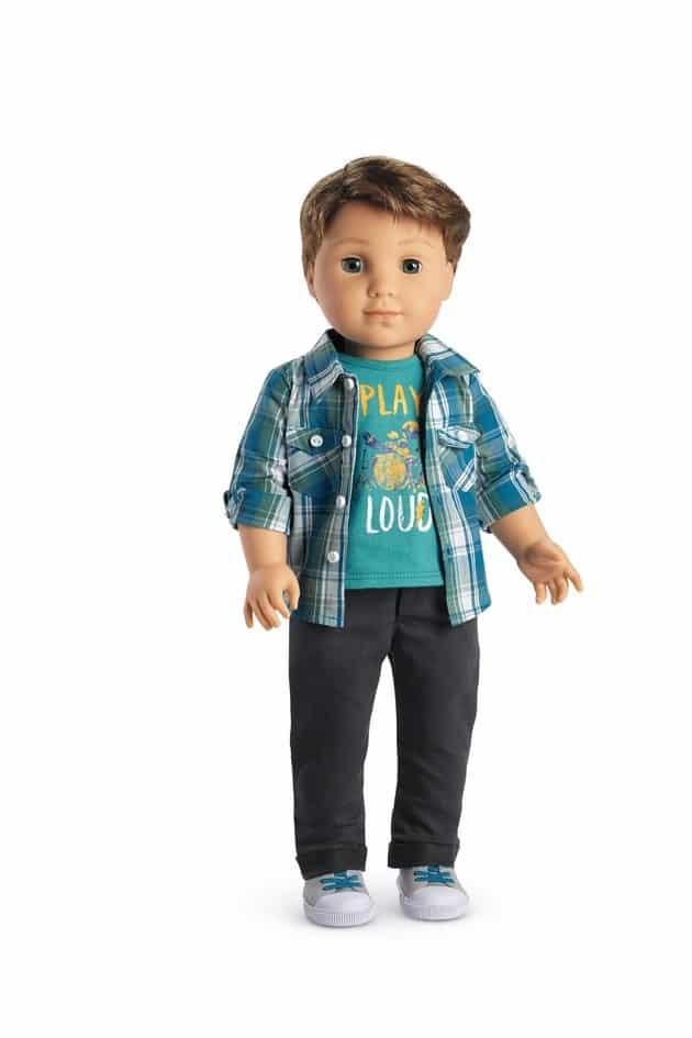 American Girl Releases Its First Boy Doll Logan Everett