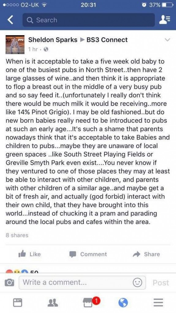Mans-rant-about-woman-breastfeeding-in-a-pub-on-Mothers-Day-spectacularly-backfires