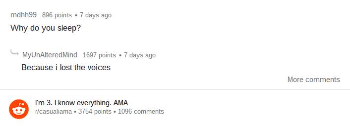 Reddit / casualiama