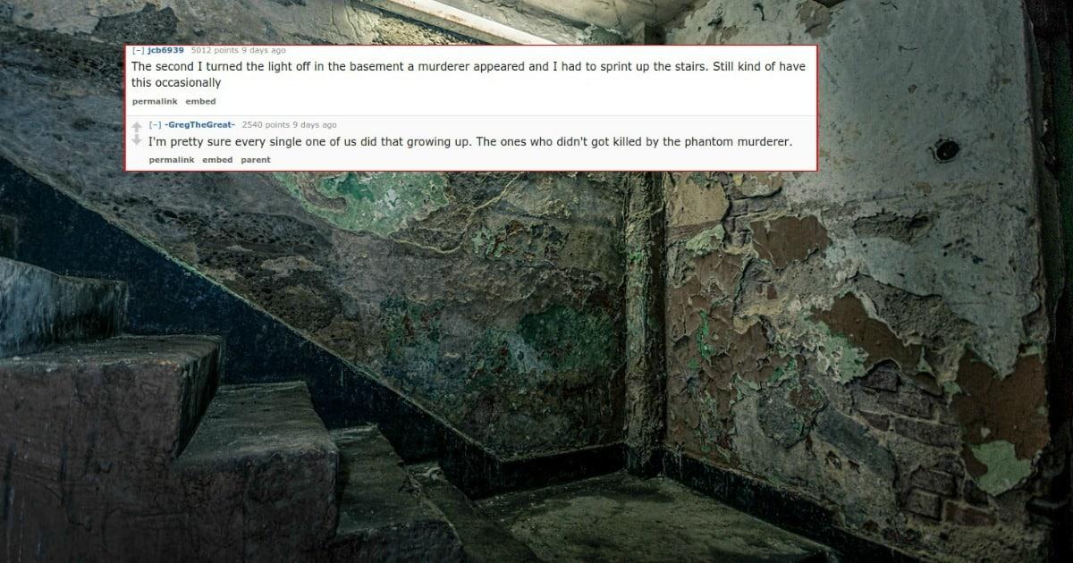 basement kid fears