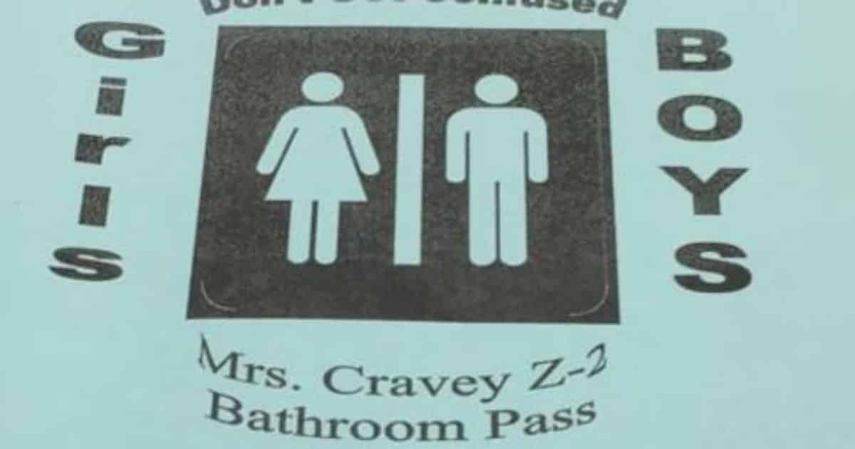 Students Call Out Teacher On Transphobic Bathroom Pass