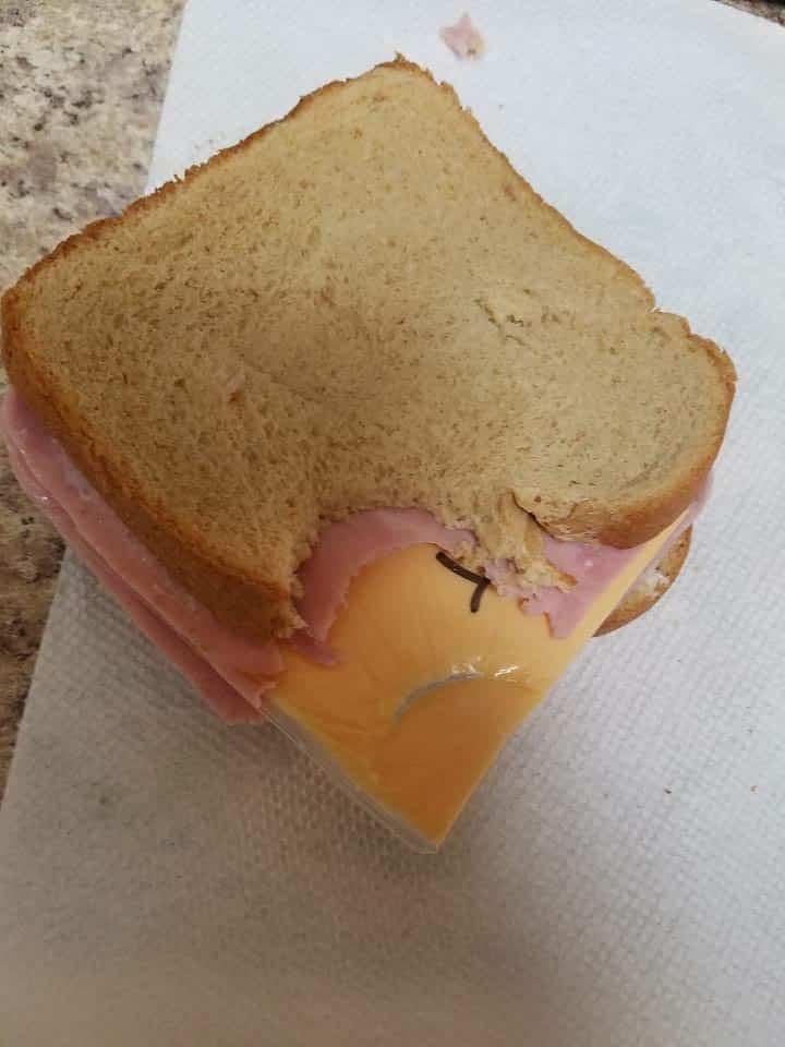 don't insult the sandwich maker