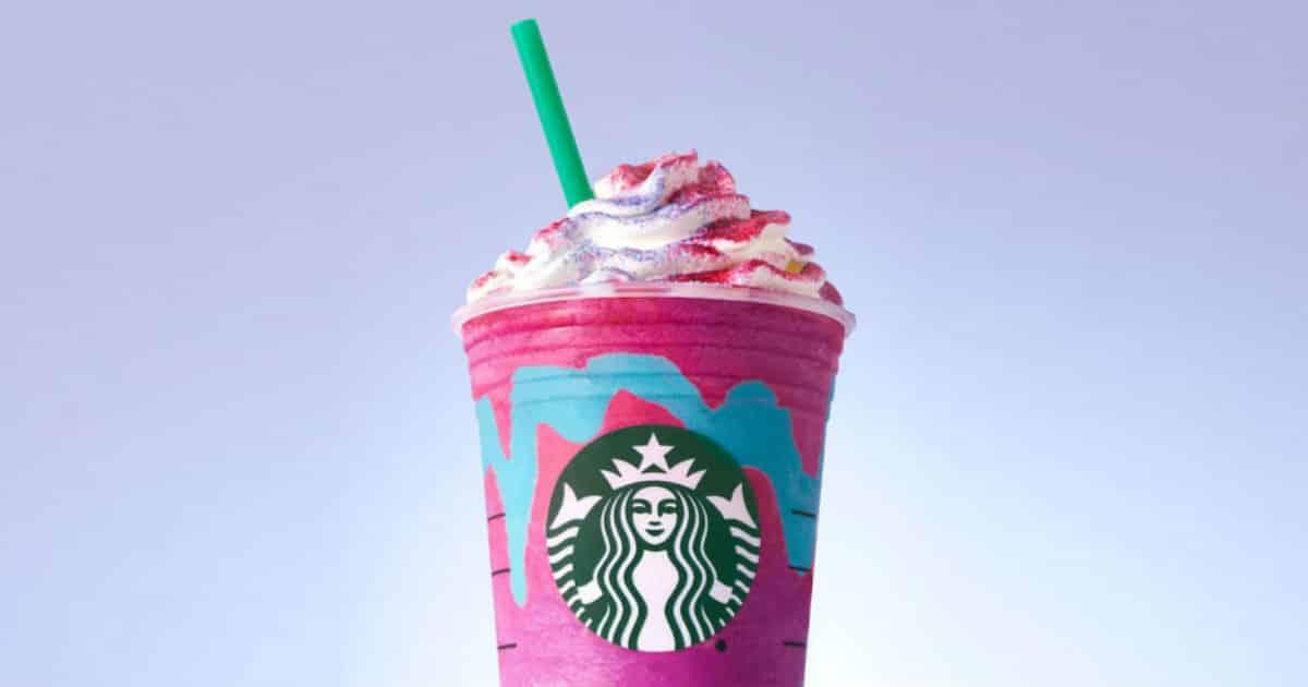 Unicorn Frappuccino from Starbucks