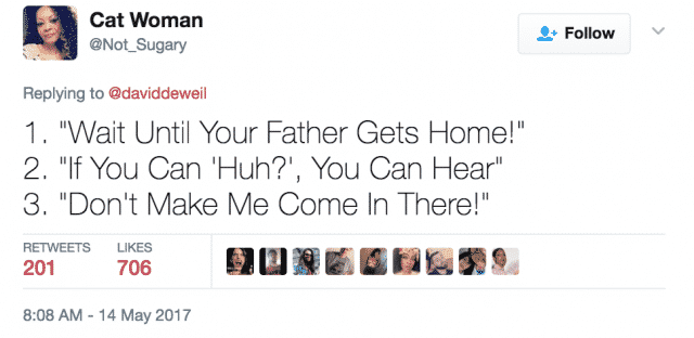 wait until your father gets home