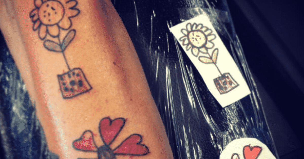 Tattoos inspired by kids that are perfect little treasures for Tattoo ideas to honor children